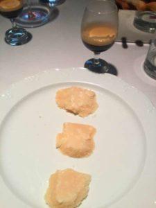 Verticale di Parmigiano di diverse stagionature degustato in abbinamento a Nespresso Grand Cru Dulsao do Brasil