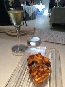 Waffle al Parmigiano Reggiano