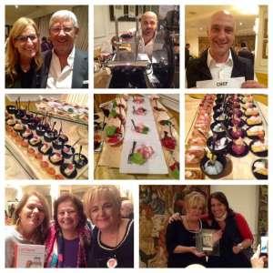 Una serata speciale all'Hotel de la Ville di Monza per la presentazione del nuovo libro di Tiziana Colombo con alcuni degli chef che hanno collaborato al libro
