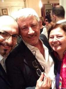 con Gianni Tota e Tano Simonato