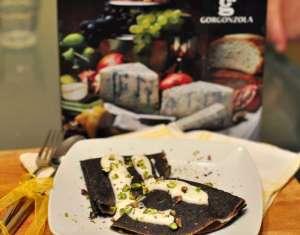 crepes riso venere gorgonzola scatola
