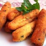 Crocchette di patate e menta