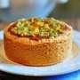 Crostata con crema frangipane allo zafferano