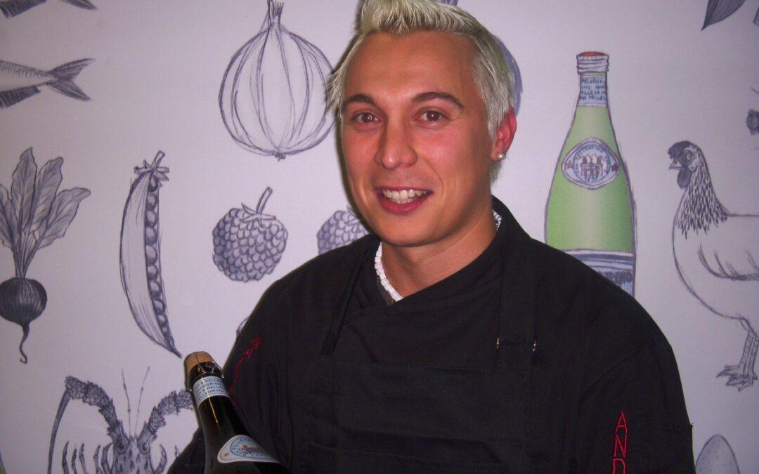 Giovani chef allo stand San Pellegrino – Andrea Mainardi