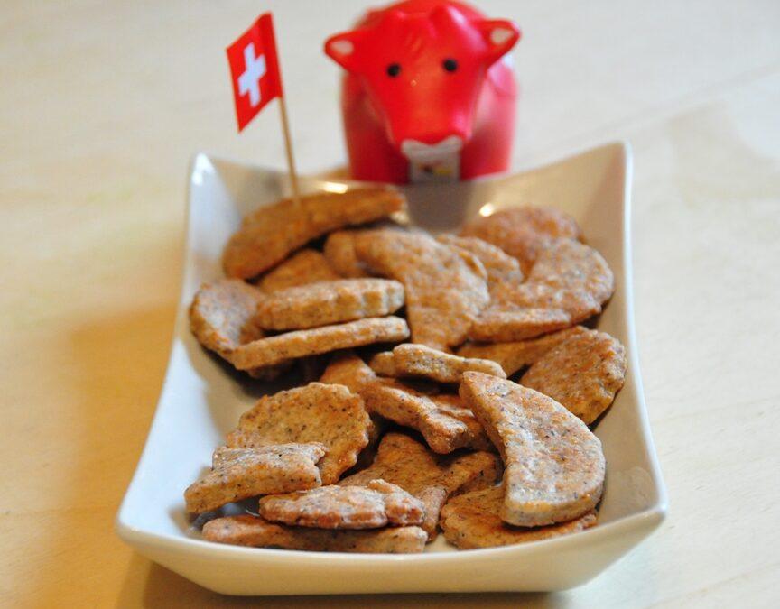 Biscotti con Sbrinz e nocciole