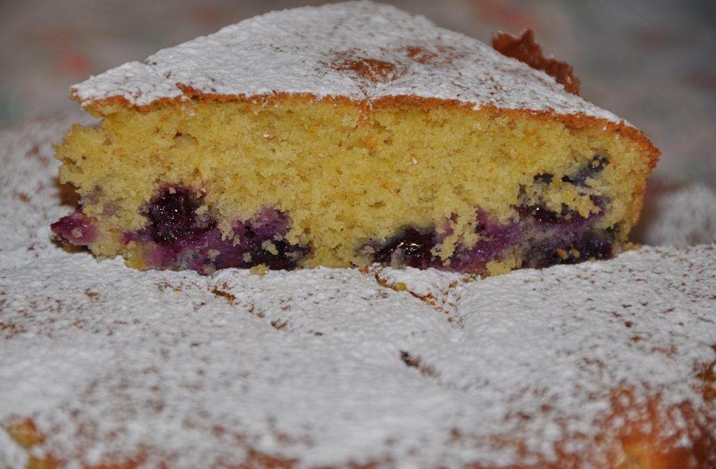 Blueberry cake di Jamie Oliver, thanks Valeria!