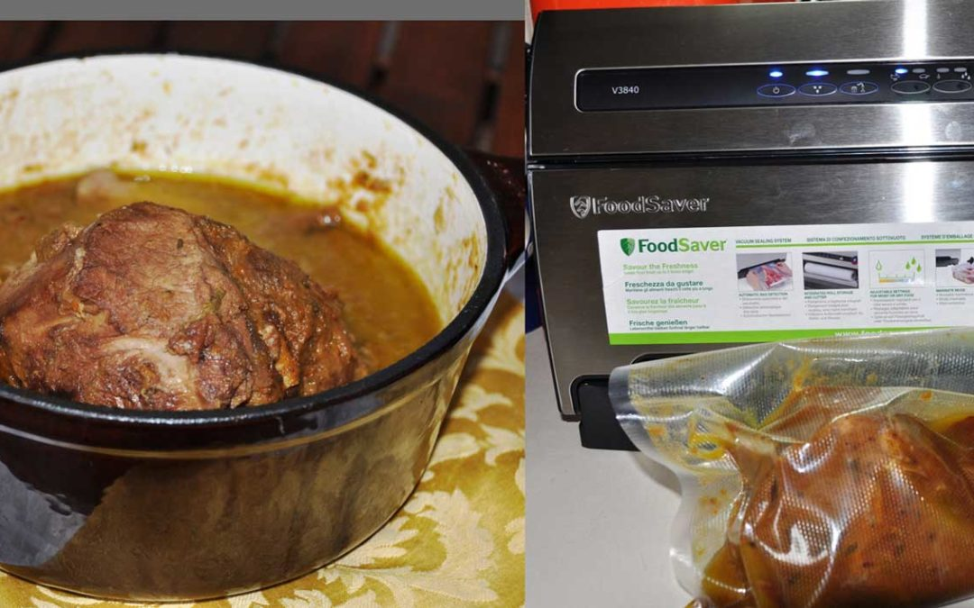 Manzo brasato: con FoodSaver si risparmia!