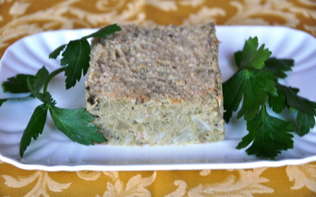 Flan di broccolo verde romano