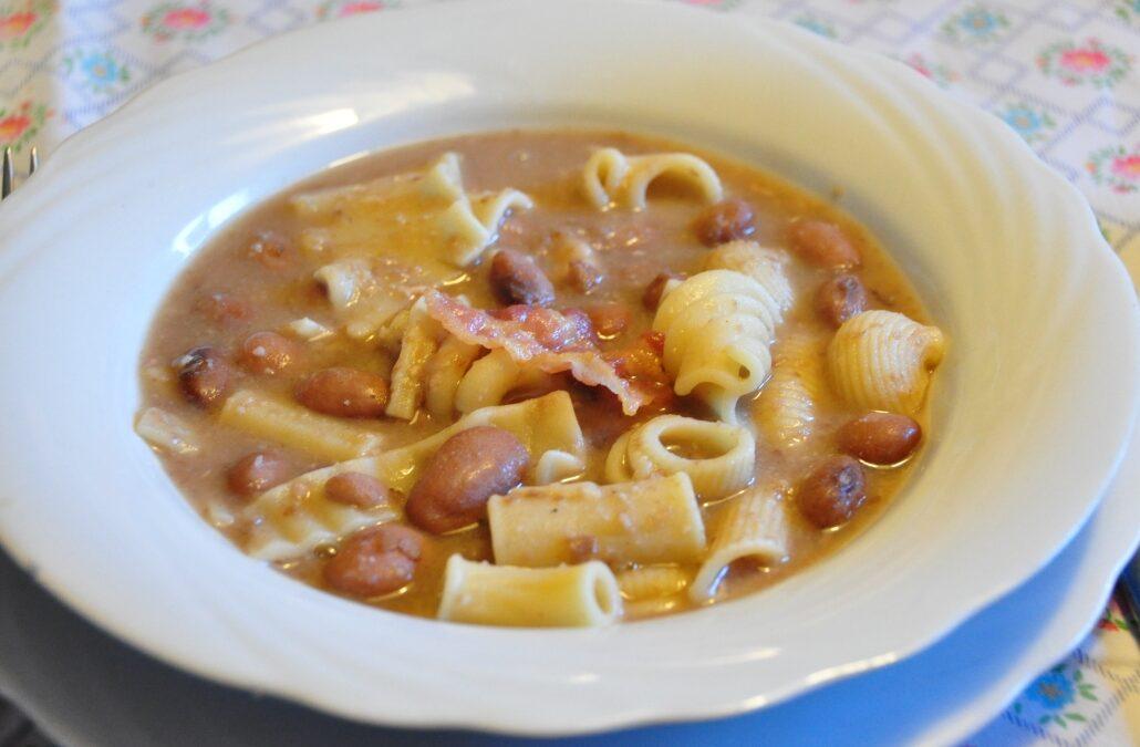 Pasta e fagioli – una ricetta del nordest con influssi napoletani