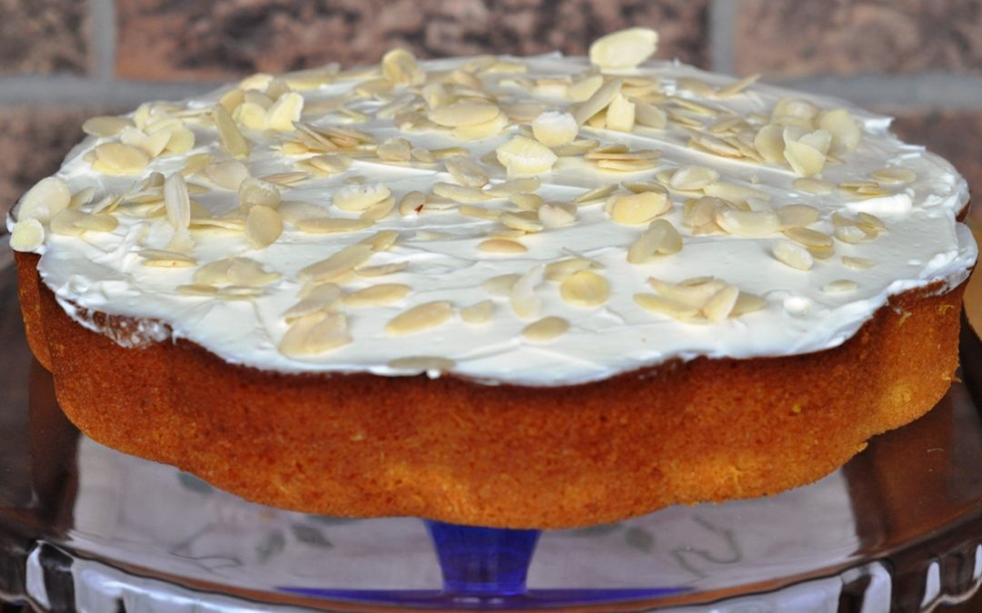 Dolce alle arance e carote – Carrot and orange cake