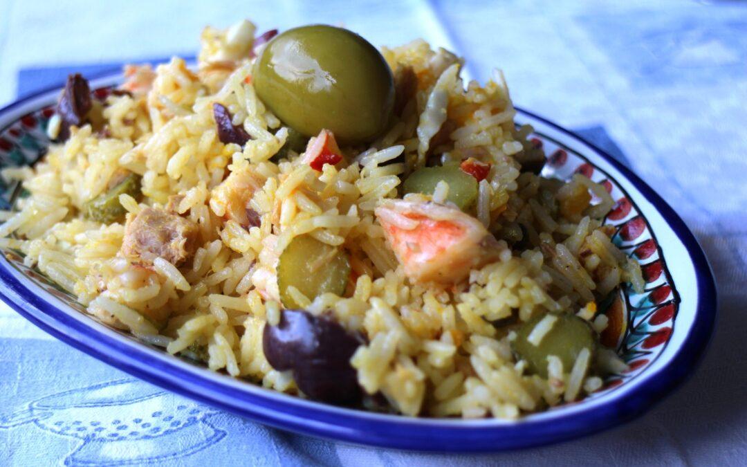 Insalata di riso basmati, un'alternativa alla solita insalata di riso