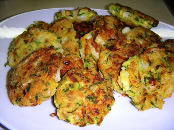 Kolokythokeftedes Polpette Di Zucchine E Feta La