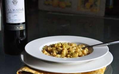 Minestra di pasta e broccoli alla romana