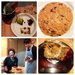 antipasto, risotto ed i dolci preparati da Irmaladolce! #cuciniAMO
