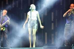 Nina Zilli in concert - Villa Arconati 18 luglio 2015 - terzo cambio d'abito