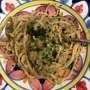 Bigoli in salsa alla veneziana, ovvero spaghetti con salsa alle acciughe