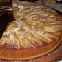 Torta di pere e banane