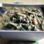 Zuppa toscana di fagioli e bietole